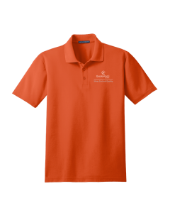 Silver ExceleRate Stain-Resistant Polo