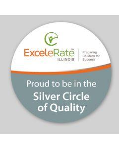 Silver Sticker (100 Stickers per Roll)