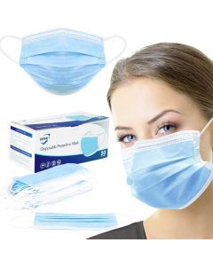 VEPX Disposable Protective Mask - 50 Mask Per Box